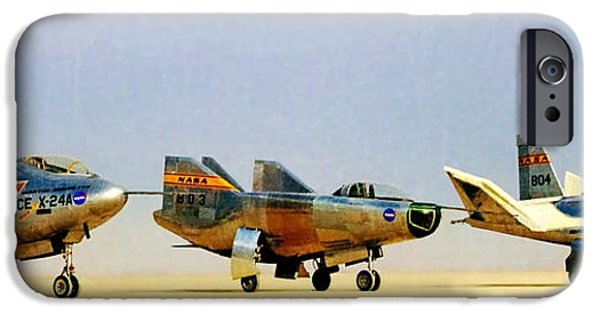 Flight iPhone Cases - Lifting Bodies iPhone Case by Benjamin Yeager