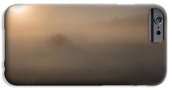 Fog Mist iPhone Cases - Lifting the Veil iPhone Case by Mike  Dawson