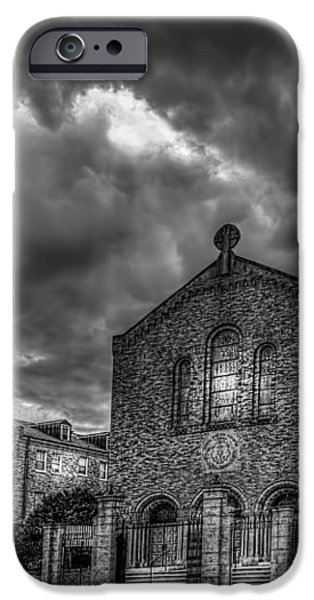 Light Above the Church iPhone Case by Marvin Spates