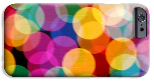 Total Abstract iPhone Cases - Light abstract iPhone Case by Tony Cordoza