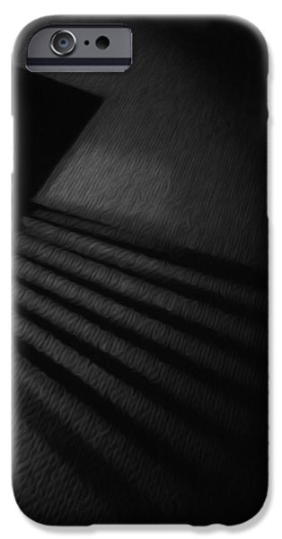 Painter Photo Mixed Media iPhone Cases - Light and Shadows iPhone Case by Jimi Bush