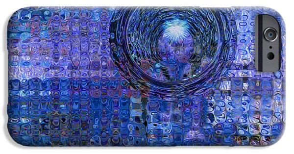 Painter Photo Digital Art iPhone Cases - Light At The End Of The Tunnel iPhone Case by Jack Zulli