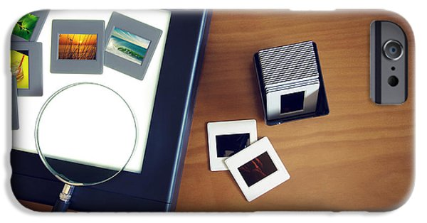 Technology iPhone Cases - Light-Box iPhone Case by Carlos Caetano