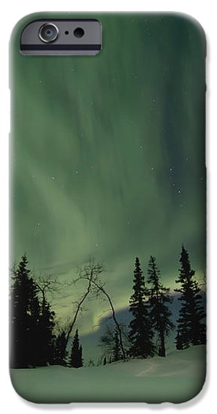 light dancers iPhone Case by Priska Wettstein
