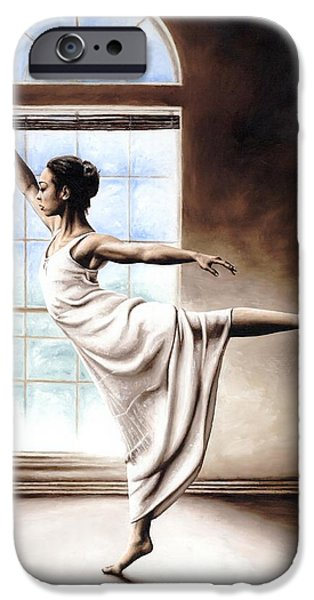 Dance Studio iPhone Cases - Light Elegance iPhone Case by Richard Young