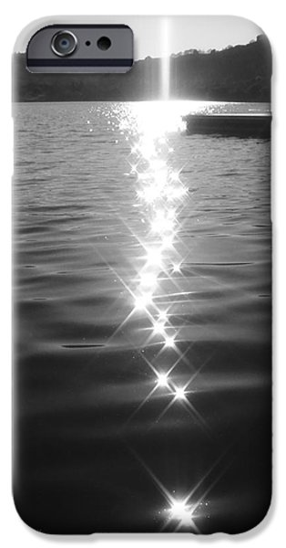 Refracted Light iPhone Cases - Light From Above iPhone Case by Donna Blackhall