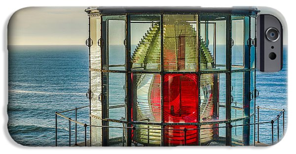 Ocean Tapestries - Textiles iPhone Cases - Light Head iPhone Case by Dennis Bucklin