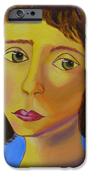 Het Paintings iPhone Cases - Light iPhone Case by Natalia Lebed