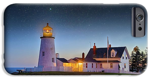 Gregory House iPhone Cases - Light of Ages iPhone Case by Gregory W Leary