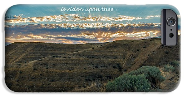 Emmett iPhone Cases - Light Of The Lord iPhone Case by Robert Bales