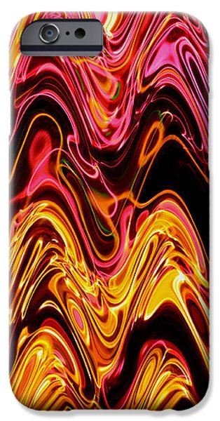 Light painting 5 iPhone Case by Delphimages Photo Creations