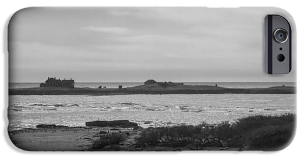 Ano Nuevo iPhone Cases - Light Station iPhone Case by John Carey
