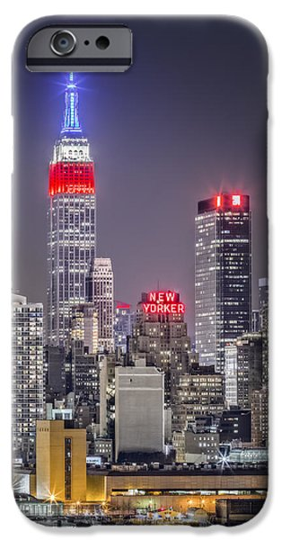 Hudson River Digital iPhone Cases - Light the way iPhone Case by Eduard Moldoveanu