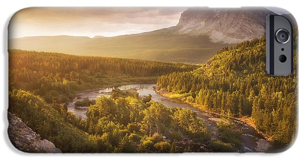 Peter Coskun iPhone Cases - Light Through the Valley II iPhone Case by Peter Coskun