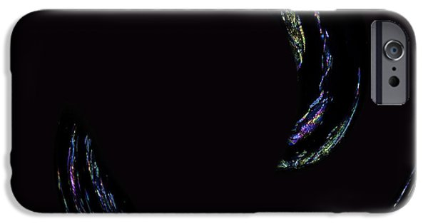 Abstract Digital Photographs iPhone Cases - Light Trails iPhone Case by Cheryl Young