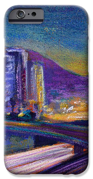 Light Up The Night iPhone Case by Athena Mantle