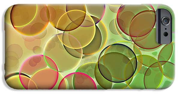 Abstract Digital iPhone Cases - LightBright iPhone Case by Anthony Caruso