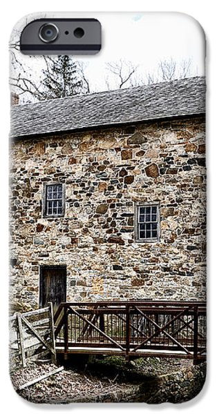Lightfoot Mill at Anselma Chester County iPhone Case by Bill Cannon