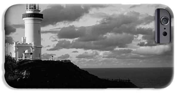 White House iPhone Cases - Lighthouse At The Coast, Broyn Bay iPhone Case by Panoramic Images