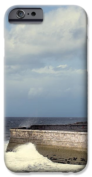 Lighthouse At Whitehaven iPhone Case by Amanda And Christopher Elwell