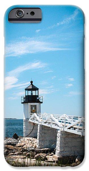 Lighthouse iPhone Case by Belinda Dodd