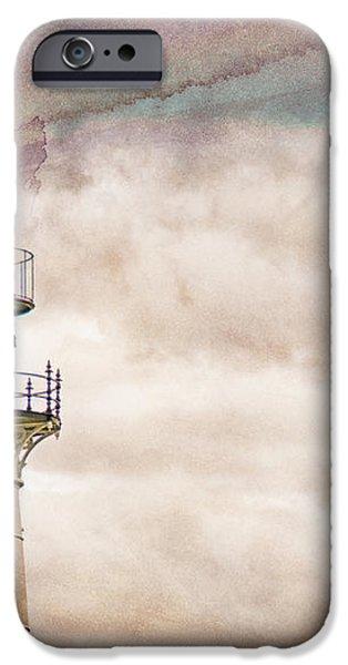 Lighthouse Cape Elizabeth Maine iPhone Case by Bob Orsillo