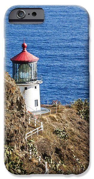 Lighthouse iPhone Case by Juli Scalzi