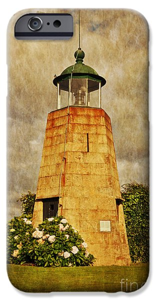 Lighthouse - La Coruna iPhone Case by Mary Machare