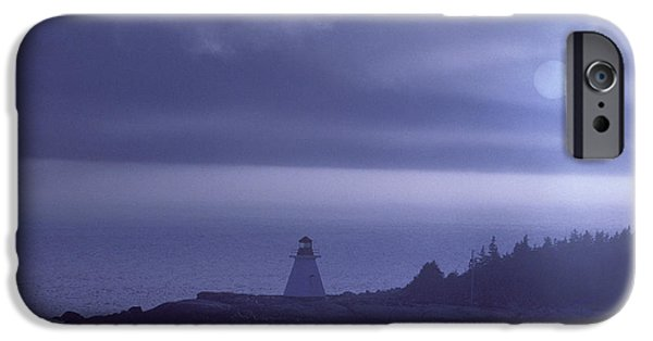Haunted House iPhone Cases - Lighthouse iPhone Case by Novastock