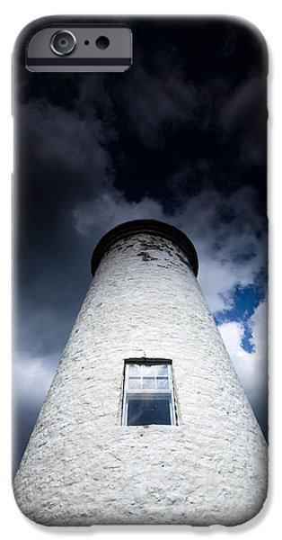Lighthouse iPhone Cases - Lighthouse on Boblo Island iPhone Case by Cale Best