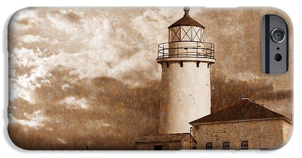 New England Lighthouse iPhone Cases - Lighthouse iPhone Case by Rick Mosher