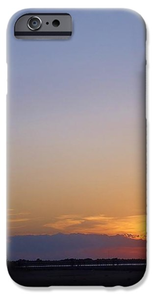 Lighthouse Sunset iPhone Case by Michelle Milano