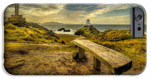 Beach Landscape iPhone Cases - Lighthouse Viewpoint iPhone Case by Adrian Evans