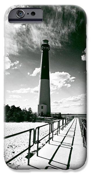 John Rizzuto iPhone Cases - Lighthouse Walk iPhone Case by John Rizzuto