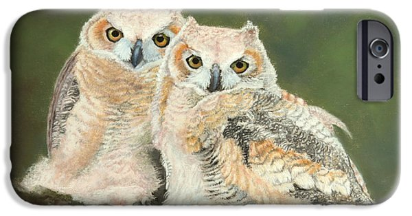 Baby Bird Pastels iPhone Cases - Lightly Roasted iPhone Case by Marcus Moller