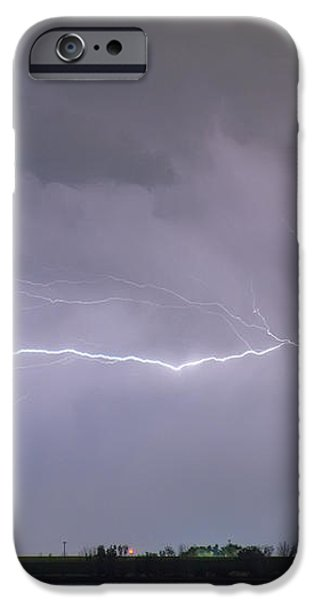 Lightning Bolting Across the Sky iPhone Case by James BO  Insogna