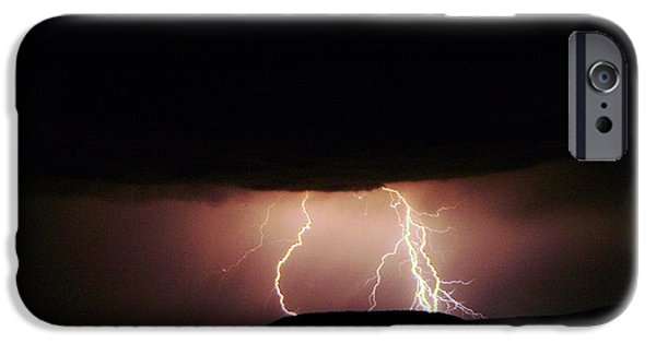 Electrical iPhone Cases - Lightning  iPhone Case by Jeff  Swan