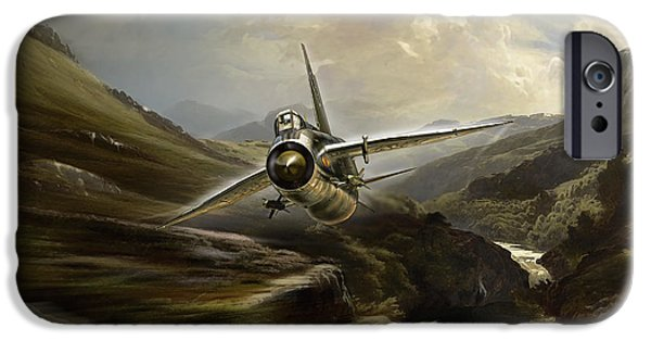 Wwi iPhone Cases - Lightning Low iPhone Case by Peter Van Stigt