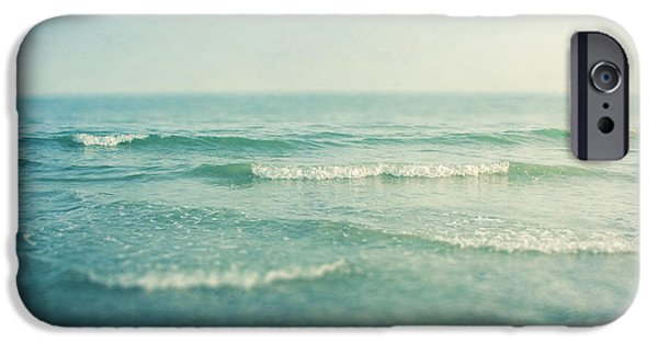 Wave iPhone Cases - Like A Dream iPhone Case by Violet Gray