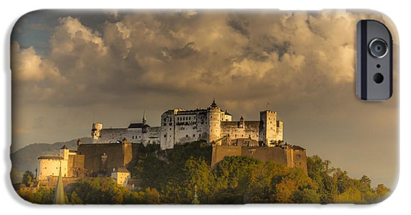Austria iPhone Cases - Like a fairytale iPhone Case by Chris Fletcher