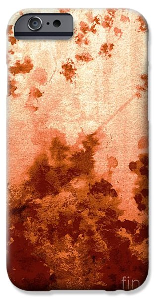 Garden Scene Paintings iPhone Cases - Like Waking from a Dream iPhone Case by Hazel Holland