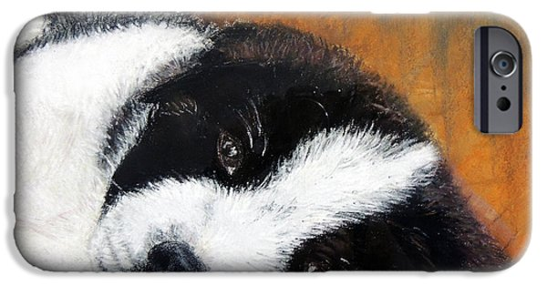 Puppies Pastels iPhone Cases - Lil pup iPhone Case by Ruth Jamieson