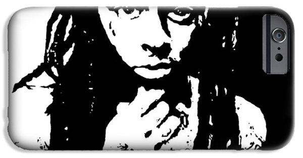 Lil Wayne Paintings iPhone Cases - Lil Wayne  iPhone Case by Cherise Foster