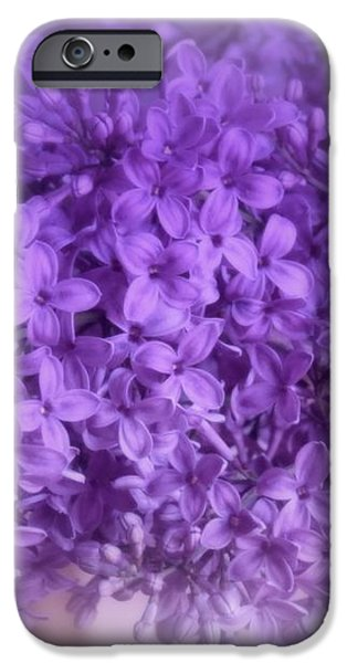 Lilac Fantasy iPhone Case by Kay Novy