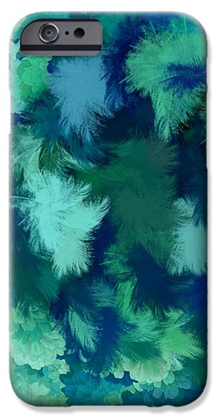Lilac of the Valley Teal Green iPhone Case by Holley Jacobs