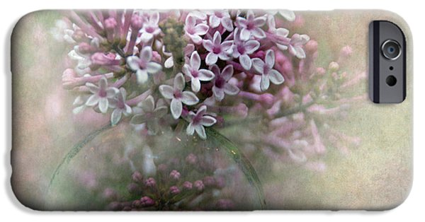 Lilac Flower iPhone Cases - Lilacs for Mom iPhone Case by Angie Vogel