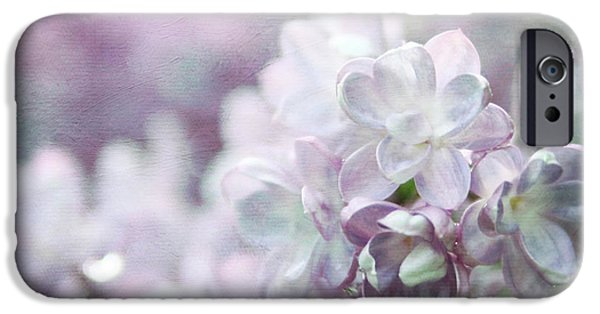 Lilac Flower iPhone Cases - Lilacs iPhone Case by Sylvia Cook