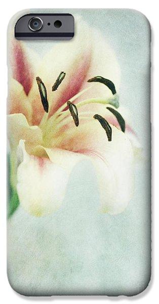 Lilium iPhone Cases - Lilium iPhone Case by Priska Wettstein