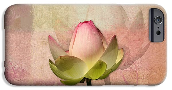 Waterlily iPhone Cases - Lily My Lovely - 01ac iPhone Case by Variance Collections