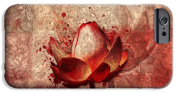 Waterlily iPhone Cases - Lily My Lovely - 11a iPhone Case by Variance Collections